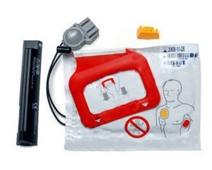 Physio Control LIFEPAK CR Plus AED Battery and Pads Kit 11403-000002