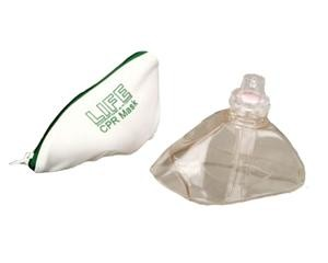 LIFE CPR Mask/Valve with Zipper Bag