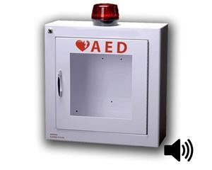 Standard AED Cabinet with Alarm & Strobe