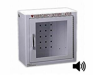 Compact AED Wall Cabinet with Alarm