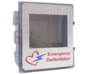 weatherproof outdoor AED cabinet