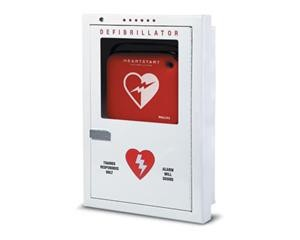 Philips Semi-Recessed AED Cabinet
