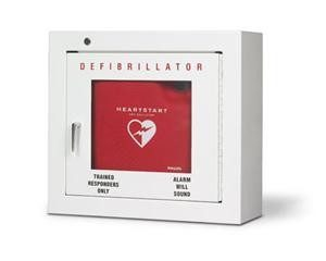 Philips surface mount AED wall cabinet