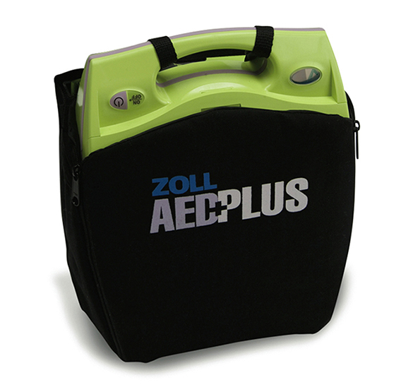 ZOLL AED Plus automated external defibrillator device