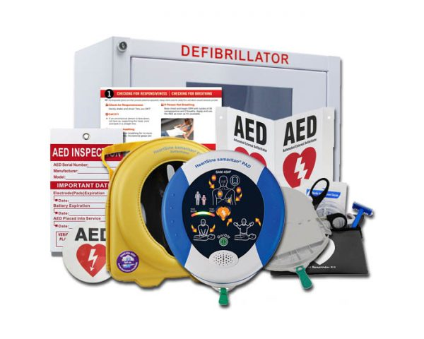 HeartSine Samaritan 450P AED package