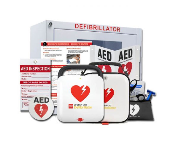 physio control lifepak cr2 stryker aed value package