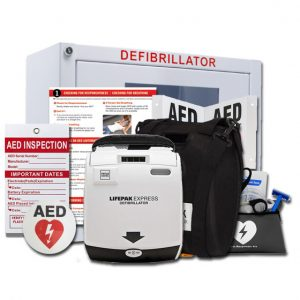 lifepak express aed value package