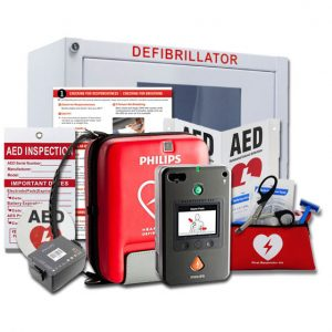 philips heartstart fr3 value package aed