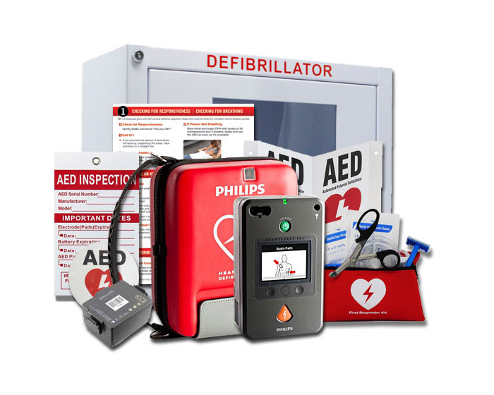 Philips HeartStart FR3 AED Value Package