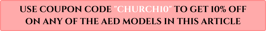 church aed coupon code