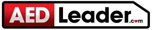 AED Leader Logo - automated external defibrillator machines for sale