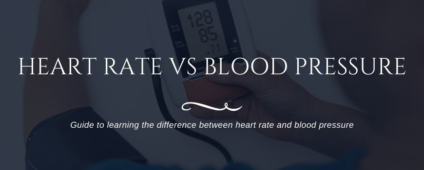 heart rate vs blood pressure