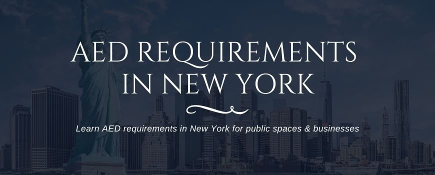 AED requirements in New York