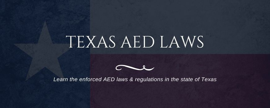 texas aed laws