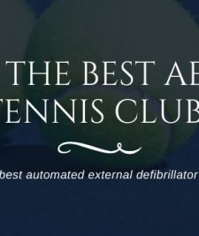 best aed for tennis club