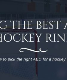best aed for hockey rink
