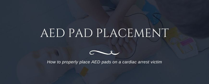 AED Pad Placement Guide