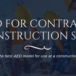 Best AED for Construction Sites and Contractors
